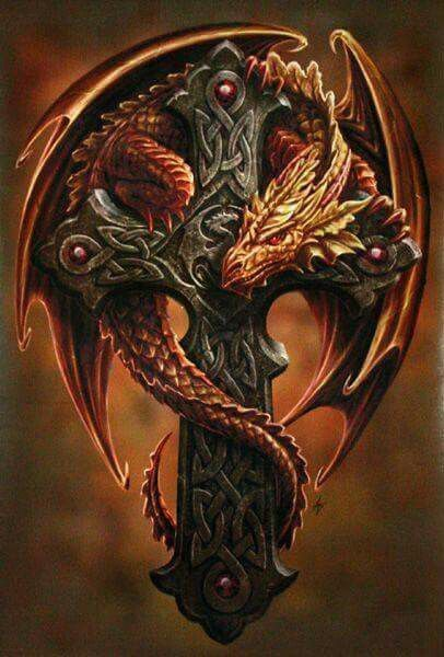 Drakon with a Cross